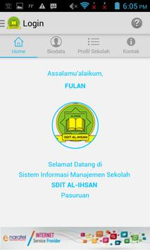 SIMS SDIT Al-Ihsan Pasuruan screenshot 1