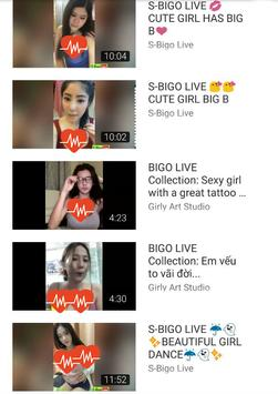 Hot Bigo Live Show Video Girl 18 screenshot 1