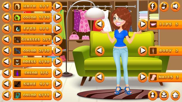 Girl Dress Up screenshot 1