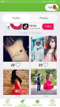 Girl Follower and Likes screenshot 2