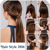 Step By Step Girl Hair Style icon