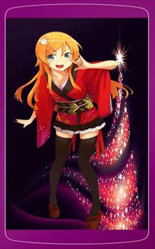 Anime Girls Christmas Wallpaper HD screenshot 4