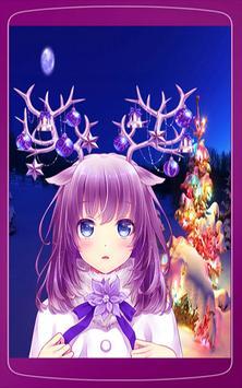 Anime Girls Christmas Wallpaper HD screenshot 6