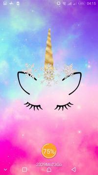 Cute Unicorn Girl Wallpapers - Kawaii backgrounds screenshot 10
