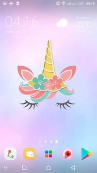 Cute Unicorn Girl Wallpapers - Kawaii backgrounds screenshot 11