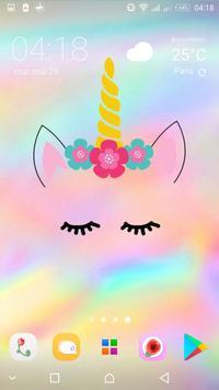 Cute Unicorn Girl Wallpapers - Kawaii backgrounds screenshot 7