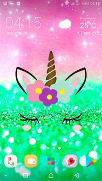 Cute Unicorn Girl Wallpapers - Kawaii backgrounds screenshot 5