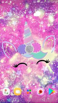 Cute Unicorn Girl Wallpapers - Kawaii backgrounds screenshot 6