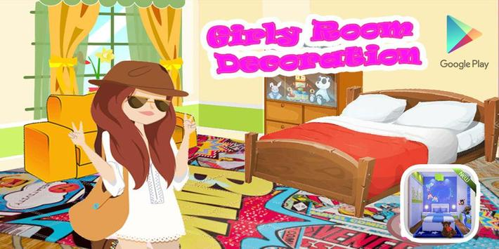 Girly Room Decoration poster
