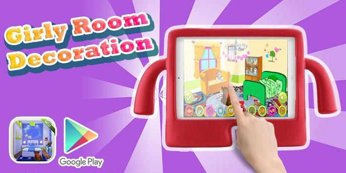 Girly Room Decoration screenshot 1