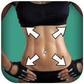 Fitness photos-Body slimmer,Plastic Surgery icon