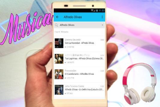 Alfredo Olivas - El Problema Nuevas Musica y Letra apk screenshot