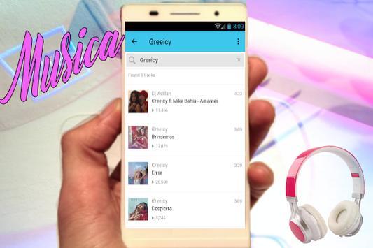 Greeicy - Amantes (Feat Mike Bahía) Nuevas Musica apk screenshot