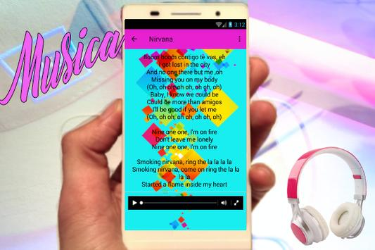 Inna - (Nirvana)New popular Song and Lyrics Musica apk screenshot