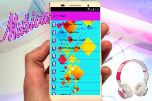 İrem Derici - (Bazı Aşklar Yarım Kalmalı) Yeni apk screenshot