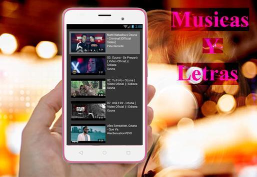 Ozuna - Criminal(Ft. Natti Natasha)Musica y Letras capture d'écran 3