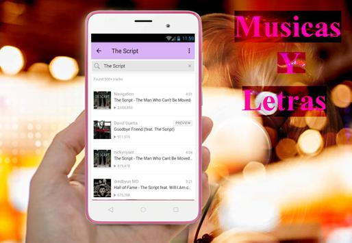 The Script - Rain musica y letra screenshot 3