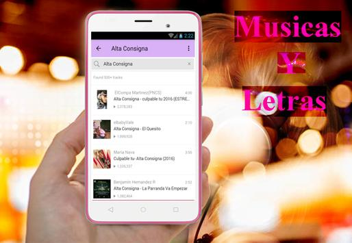 Alta Consigna - Culpable Tú New Musica y Letra screenshot 3