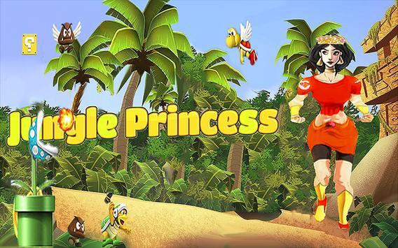 Princess Jungle Runner poster