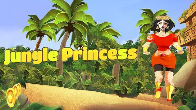 Princess Jungle Runner apk screenshot