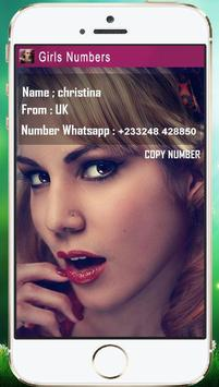 Sexy Girls Numbers poster