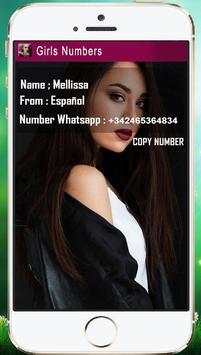 Sexy Girls Numbers apk screenshot