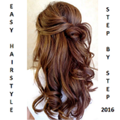 Easy Hairstyles 2017 - Steps icon