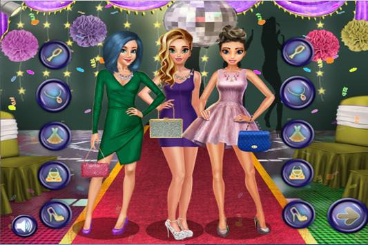 Ice Princess & Ladybug Prom Night Party Game screenshot 12