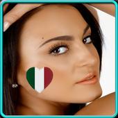 sexy italian girls wallpapers icon
