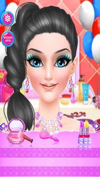 العاب تلبيس بنات ومكياج قص و تصفيف الشعر screenshot 2