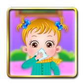 Little Girl Goes Sick Dress Up icon