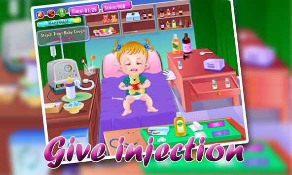 Little Girl Goes Sick Dress Up apk screenshot