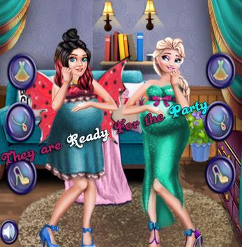 Ice Princess & Ladybug Fairy Pregnant Sauna Bath screenshot 4