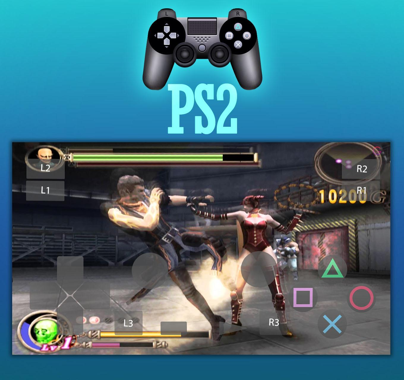 can we play ps2 games on ppsspp