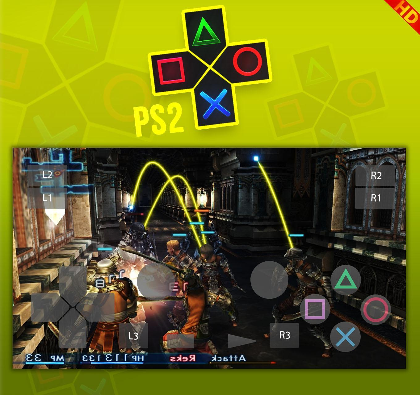 Download ps2 emulator android games | DamonPS2 PRO (PS2 Emulator) v2