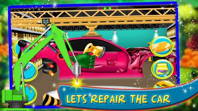 Mechanic Factory Car repair auto workshop Game apk screenshot