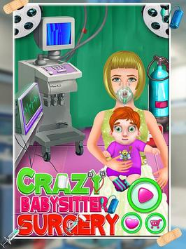 Crazy Baby Surgery Simulator poster