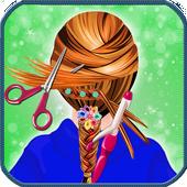 School Girl Hairstyle Salon icon