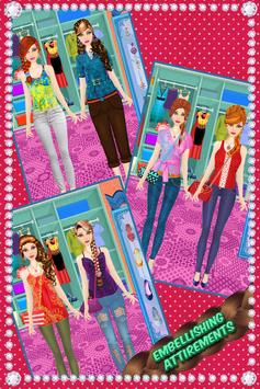 School Girl Hairstyle Salon screenshot 19