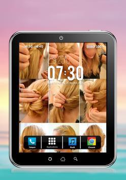 Girls Hairstyles Step by step apk screenshot