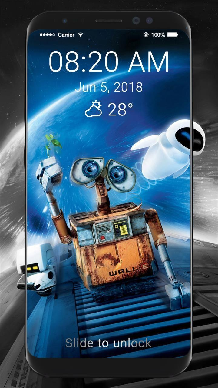 Wall E 4k Wallpapers Lock Screen For Android Apk Download