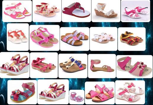girls' sandals design screenshot 3