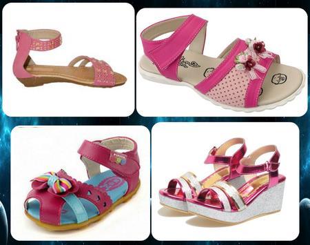 girls' sandals design screenshot 5