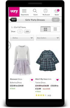 Girls Party Dresses & Clothing screenshot 1