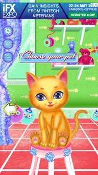 لعبة صالون تجميل القطط screenshot 1