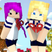 Yandere Girls Skins for Minecraft PE for Android - APK Download