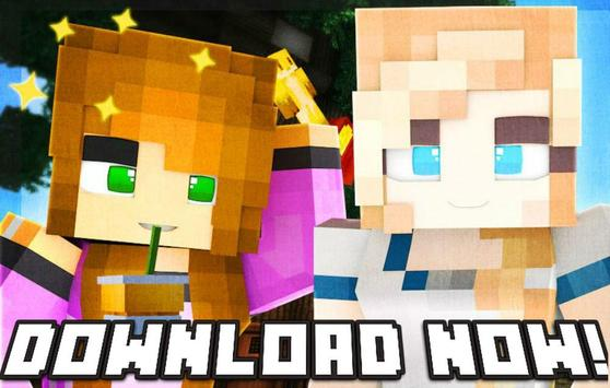 Yandere Girls Skins For Minecraft PE For Android APK Download - Skin para minecraft pe yandere