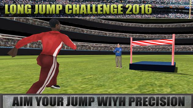 Long Jump Challenge 2016 poster