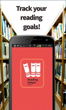 Reading Helper - Manage Books poster