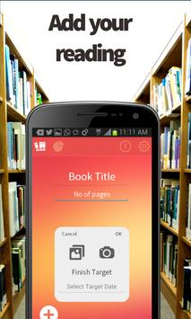 Reading Helper - Manage Books screenshot 1